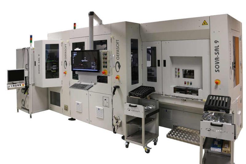 Sensor assembly line