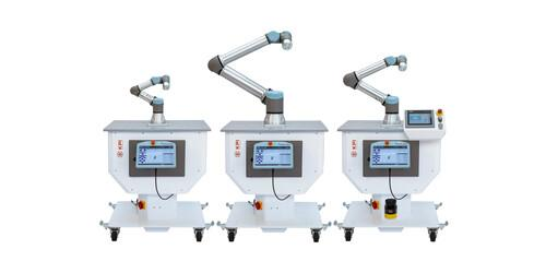 Mobile kompaktzellen für Cobots
