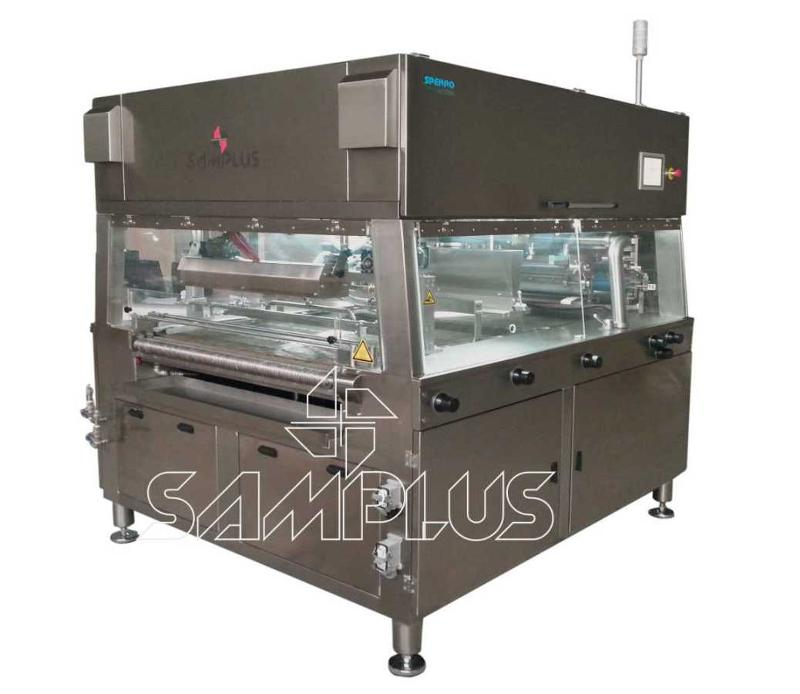 First quality chocolate enrober with best prices. Samplus Machinery Turkey Please contact with us for more information.