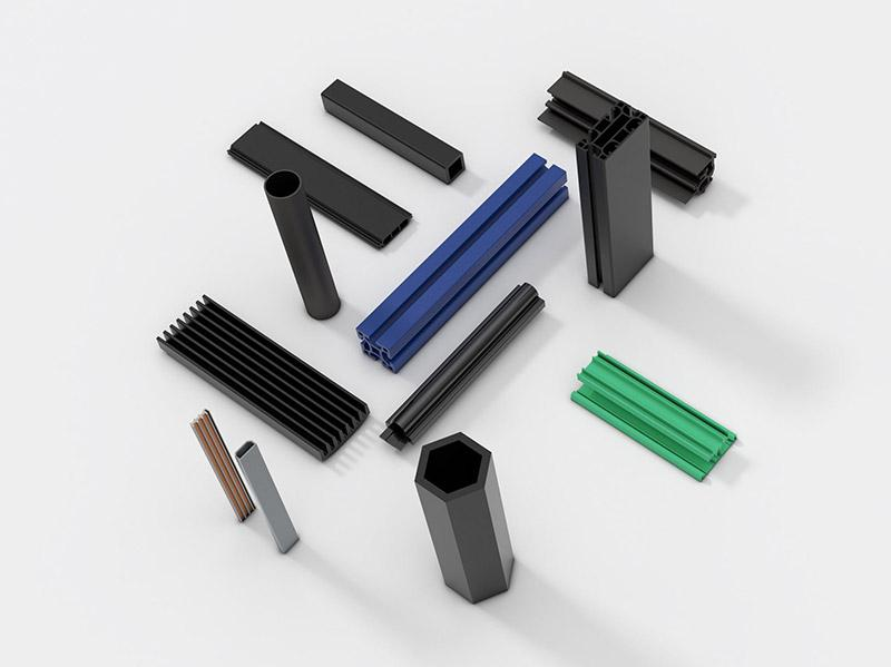 Technoform plastic profiles various industries