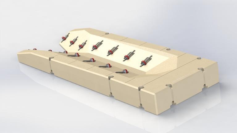 Plataformas motos de Agua