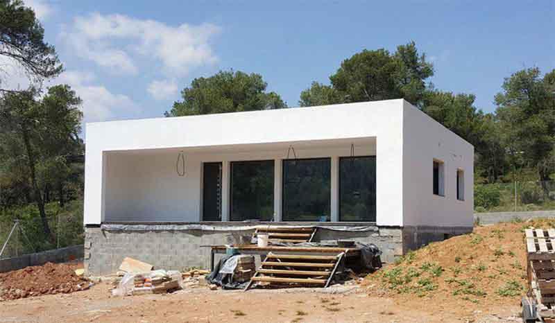 Каркасный дом в Испании