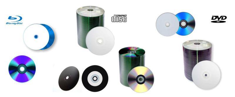 CD-R, DVD-R, BD