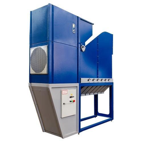 Aerodynamic fractional grain separator, capacity 20 t / h.