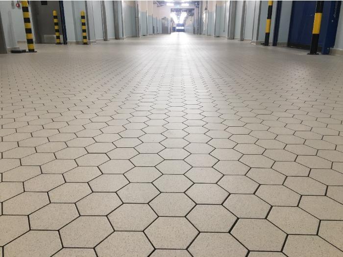 Industrail Hygienic Ceramic Floors - PowerHex