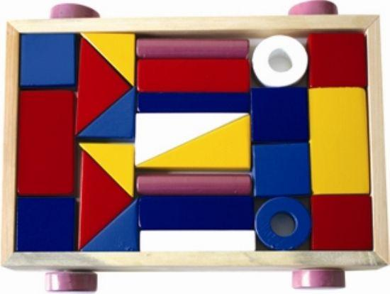educational wooden toys, block sets for kids , preschool toys. use your imagine and make your own designs with colorful wooden figures.