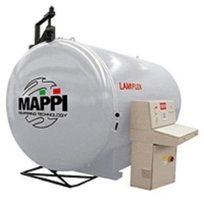 MAPPI INTERNATIONAL S.R.L. l'Azienda, leader nella produzione di forni per la tempra del vetro piano.