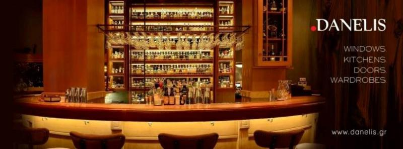 Bespoke, specialist custom built bar in the Centre of Athens