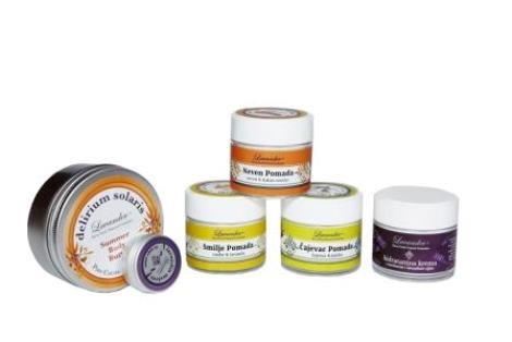 Natural hand and body balms