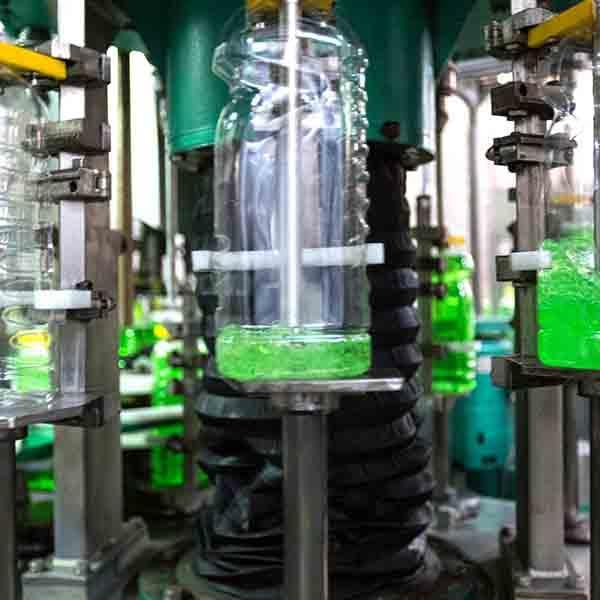 Liquid detergent filling