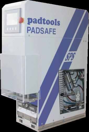 padtools - PADSAFE mit Serviceklappe