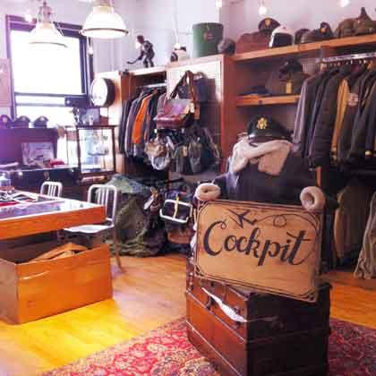 Cockpit USA's showroom located in New York City at 15 West 39th Street. Stop by to try on your favorite style.