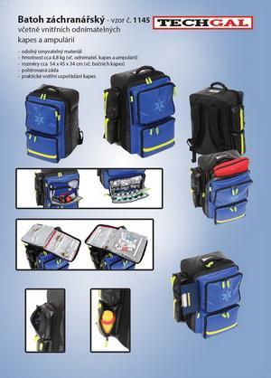 Rescue bagpack