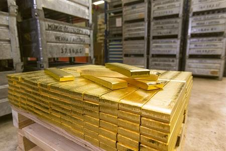 Goldbarren der MÜNZE ÖSTERREICH c by Anreas Balon