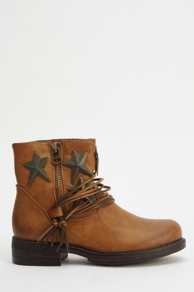 Botas cowboy estrellas