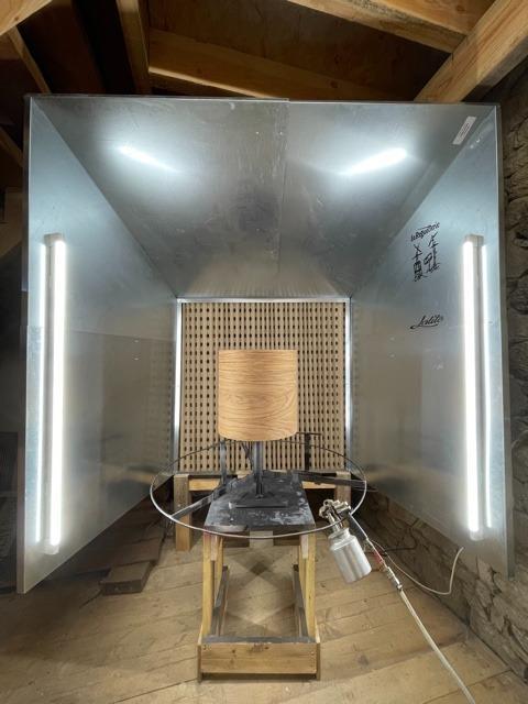 Paint Modul' : mur aspirant / cabine de peinture/vernis modulable livrée en kit