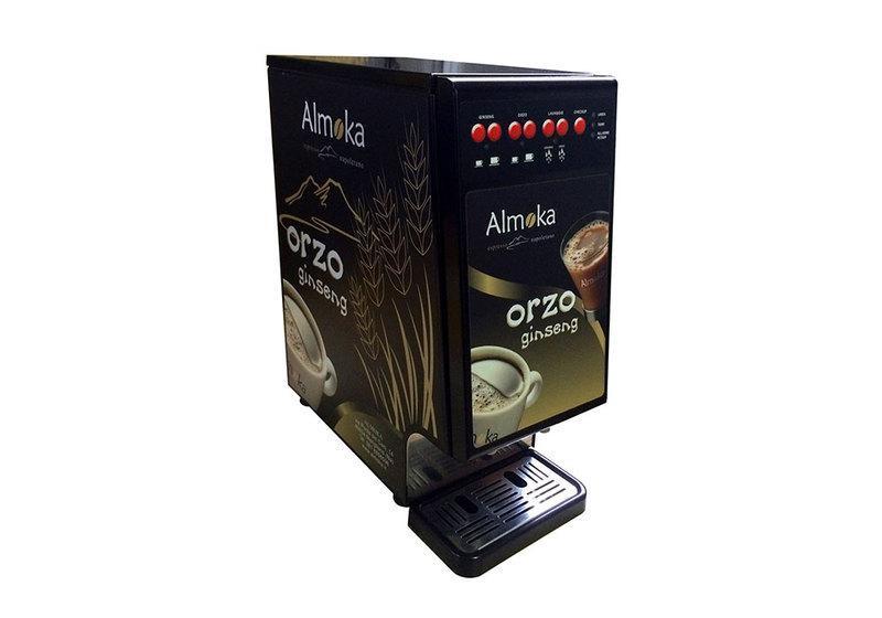 Macchina per bevande al Ginseng e Orzo a marchio Almoka.