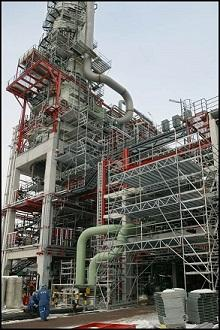 Refinery scaffold