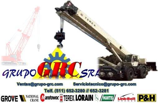 Maintenance of cranes grove, national, terex, mantis, lorain