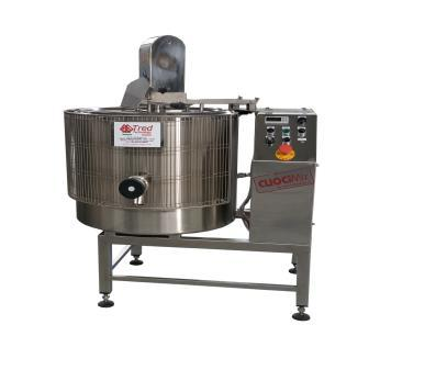 The electric / gas / steam cooker line is ideal for preparing sauces, jams, sauces, patés and pickles. It coul be basi (just cooking) or trivalent ((cooking, scalding and pasteurization).
