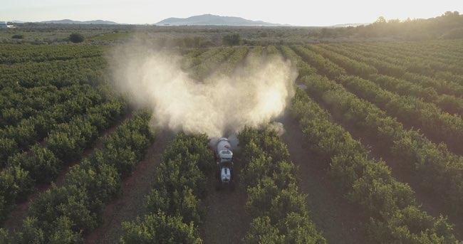 Los drones en el campo agricola