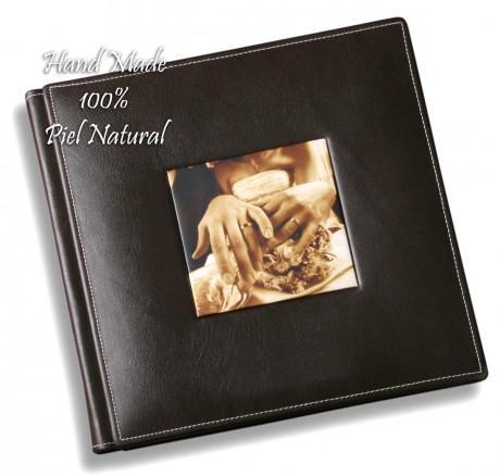 Digital álbum, hand made, natural leather