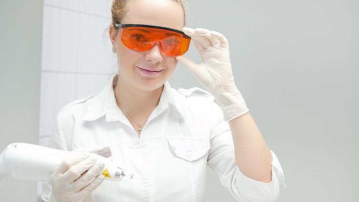 Doctor dermatologist Litus Irina