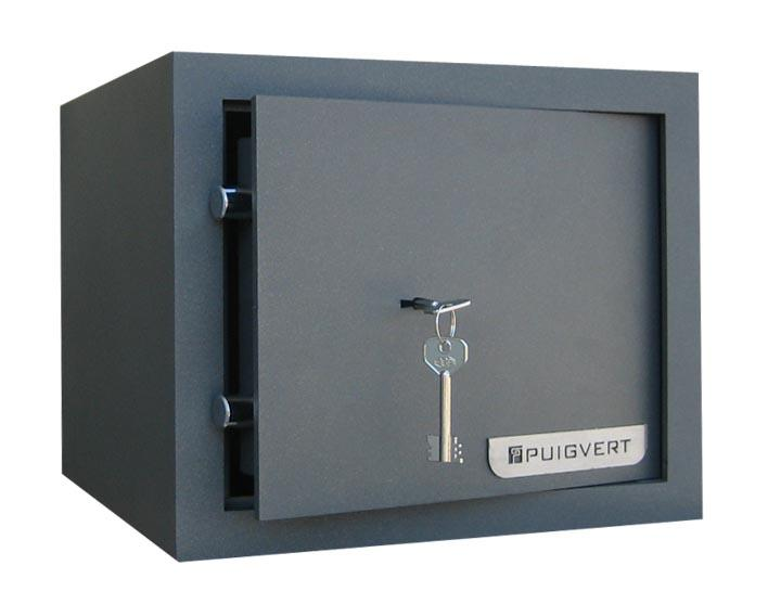 FREE STANDING SAFE Safes for domestic and commercial use. Anchored using self-tapping screws, they are placed without any building work. Ideal to be placed in built-in closets or similar spaces