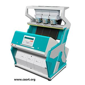 Color sorter for sorting rice, wheat, grains etc. produced by CSort (Russia).