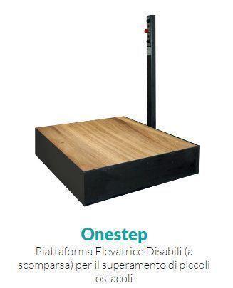 Onestep - Piattaforma Elevatrice