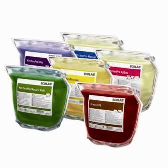 ECOLAB Gamme de produits KitchenPro pour l'entretien de la cuisine
