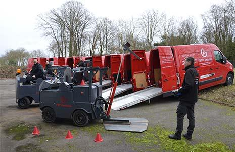 Tous nos techniciens sont formés pour assurer les vérifications générales périodiques de chariots élévateurs (VGP)