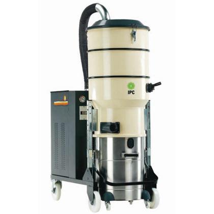 Planet 1000 SM Aspirador Industrial de Polvo con turbina trifásica de 2 etapas. Cuerpo con tratamiento de pintura resinada y deposito de acero inoxsidable...