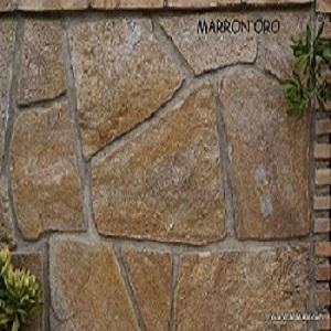Piedra de gran resistencia, aísla del frío y la humedad. Ideal para revestimientos de muros y fachadas.
