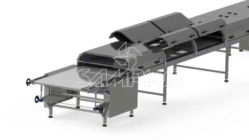 Chocolate Cooling Tunnels Samplus Machinery