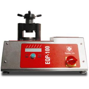 The EQP-100 Press is specially designed to obtain the best results in the manufacturing of beads. Of robust and durable design, it is simple to use and very effective.