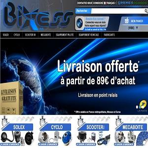Le site Bixess vous propose un catalogue de près de 10 000 pièces et accessoires solex, cyclos, scooters et méca-boite. SAV professionel top qualité avec visio-conférence inclus.