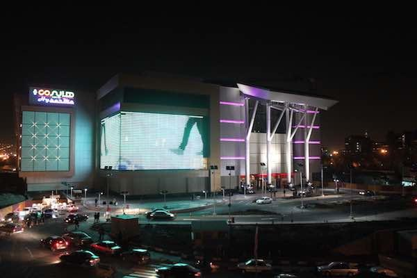 Megamall is one of the biggest Shopping malls in Iran. we installed media facade solutions on this project. project was shortlisted in Light Middle East competition in 2014