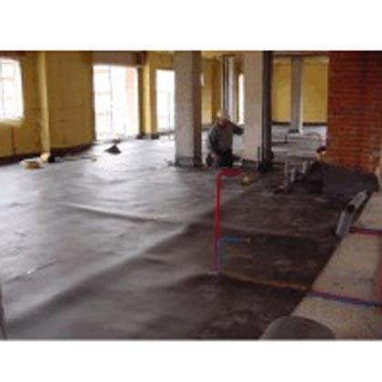 Láminas de aislamiento acústico para evitar ruidos de pasos y caídas de objetos que son trasmitidos a los pisos adyacentes.