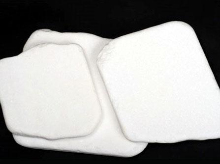 White decorative rocks