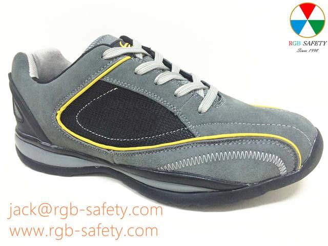 Safety shoes trainer with steel toecap for men