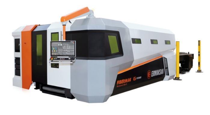 Machine de découpe laser FIBERMAK - ERMAKSAN