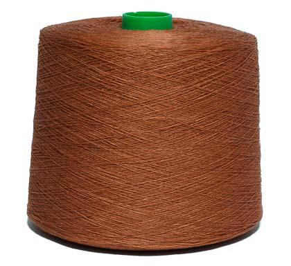 Dyed linen yarn Nm26