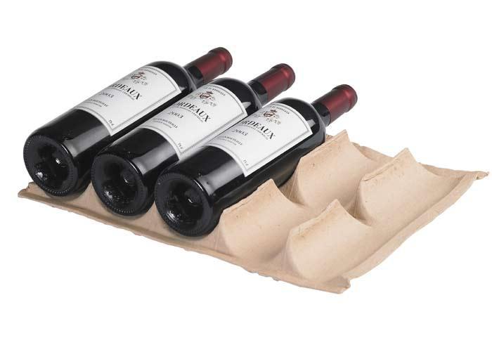huhtamaki emballages en papier et carton calage bouteilles de vin calage bouteilles sur. Black Bedroom Furniture Sets. Home Design Ideas