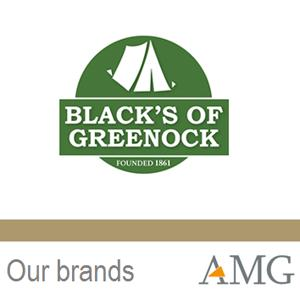 Synonymous with group camping since late 19th century and known throughout generations. Blacks of Greenock is the tent of choice for thousands of Scouts, Guides & Boys Brigades over the last 75 years.