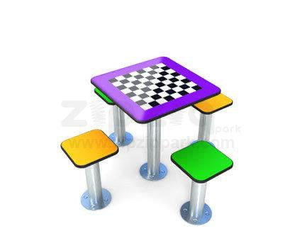 Have fun with playtables in parks or in your garden. Playtables offers 3 type of game.