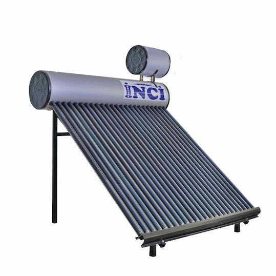180 Lt Gray Colored Solar Water Heater Thermal System