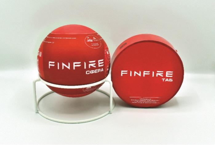 """FINFIRE """"SPHERE"""" and """"TAB"""" – self-contained powder fire extinguishing devices"""