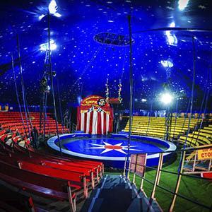 Circus  auditorium