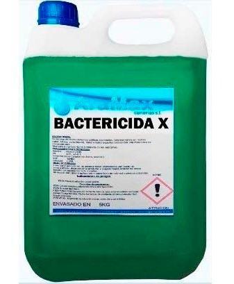 Bactericidas, fungicidas, virucidas, desengrasantes, desinfectantes,etc.